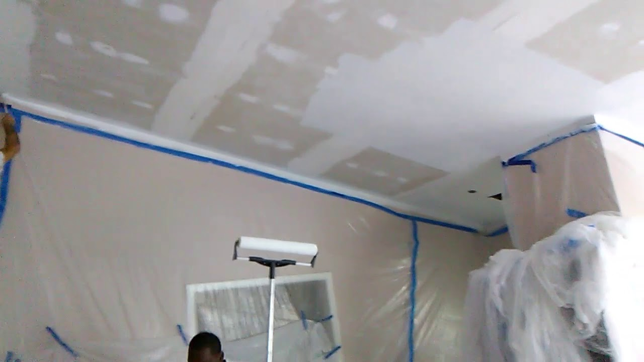 Removing Popcorn Ceilings To Smooth Ceiling Great American Home Pros Llc