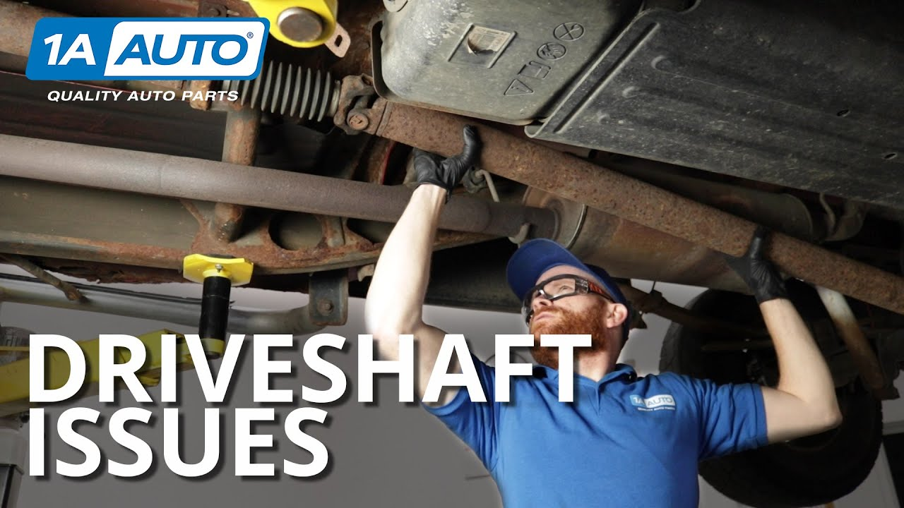 How To Diagnose Truck Drive Shaft Problems Vibrations And Noise Youtube