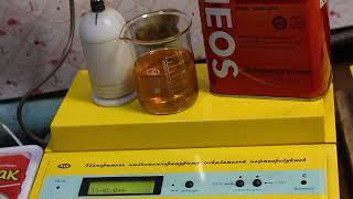 Масло Eneos Supergasoline 5W-30 SL проверка CCS при.. -30гр.