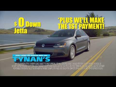 VW Jetta l $0 down $134/mo. | VW Dealer serving Aurora, Denver, Parker & Centennial, CO | Tynan's VW
