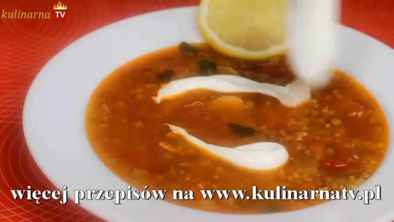 Turecka Zupa Z Soczewica Youtube