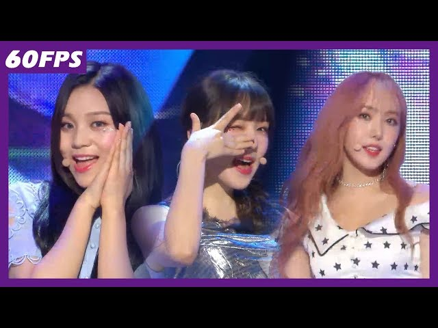 60FPS 1080P | GFRIEND - Time for the Moon Night, 여자친구 - 밤 Show Music Core 20180519