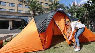Bestway Treble Layer C ing Tent Waterproof For 6 Person Tent w Carry Bag