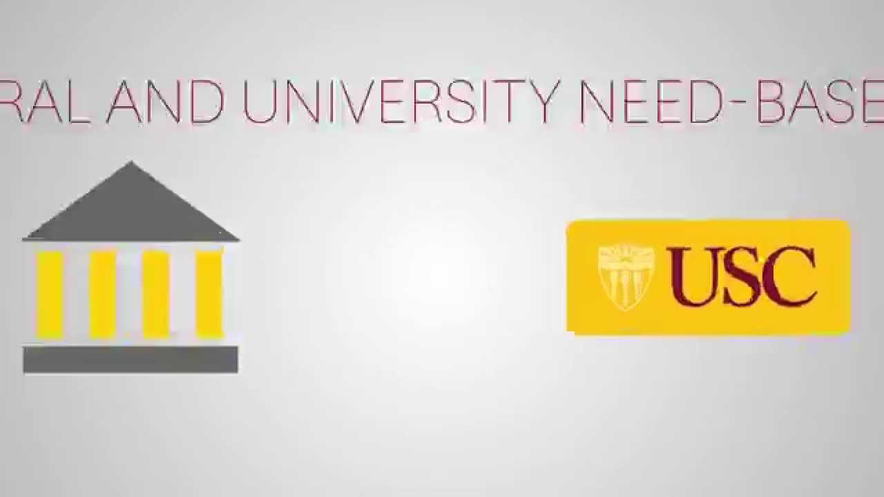 How Financial Aid Works. USC Financial Aid