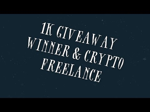 Should I Accept Crypto For Freelance Work And 1k Giveaway Winner Announced!