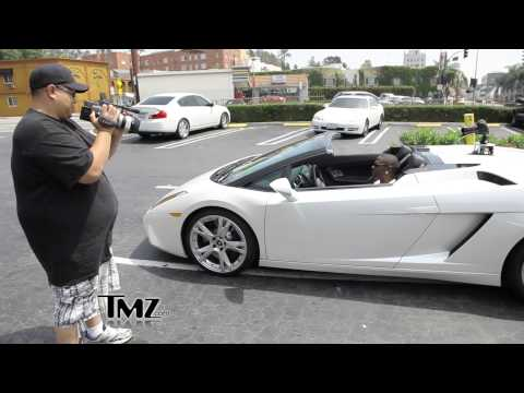 TMZ Catches Up With TKO Capone In His Lamborghini? (Also Shows Riff Raff On Mtv's G's 2 Gents) [Switch Gear Gang Submitted]