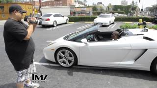 TKO CAPONE DRIVING A LAMBO IN HOLLYWOOD... TMZ?