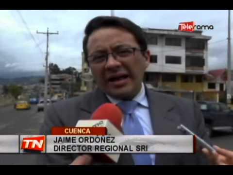 SRI realiza control de facturas en patios de vehículos