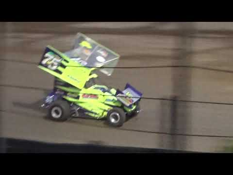 Paradise Speedway Brandyn Griffin feature win 7/15/17