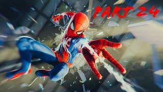 Spiderman vs Mr Negative Spiderman Part 2 (Ps4 Pro) Walkthrough Part 24