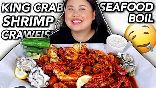 king-crab-seafood-boil-w-giant-shrimp-crawfish-mukbang-eating-show-kim-thai