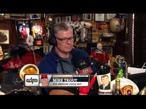 Mike Trout on The Dan Patrick Show (Full Interview) 03/15/2016