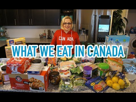 What We Eat In Canada | Groceries From Costco