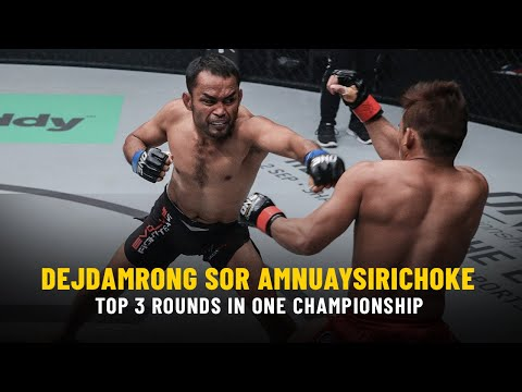 ONE Highlights | Dejdamrong's Top 3 Rounds