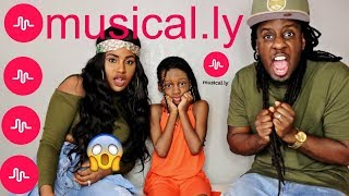REACTING TO MY 9 YEAR OLD DAUGHTER'S CRINGEY MUSICAL.LYS PART 2