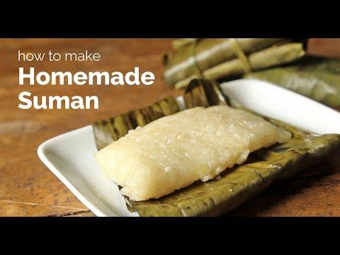 How to Make Homemade Suman   Yummy Ph