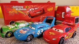 Тачки Маквин против Кинга и Чико Мультик про машинки для детей Lightning McQueen Cars