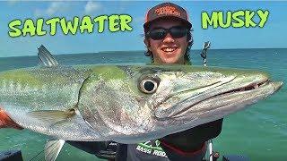 Saltwater MUSKY!! - Shark EATS My Dream Fish on TOP!