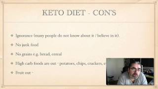 Ketogenic Diet - Yes Thats What My New Plan Is