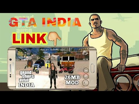 (26MB)GTA INDIA MOD FOR ANDROID📱(DOWNLOAD+TUTORIAL)