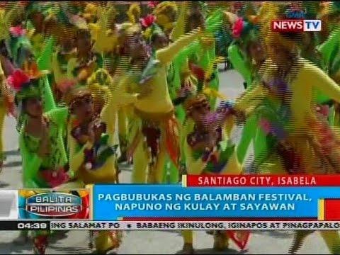 BP: Pagbubukas ng Balamban Festival, napuno ng kulay at sayawan