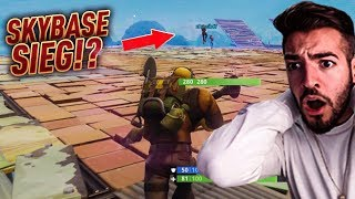 Wir BAUEN KRASSE SKYBASE in kleiner ZONE + SIEG?! 😱💎 Fortnite Battle Royale WakezGaming