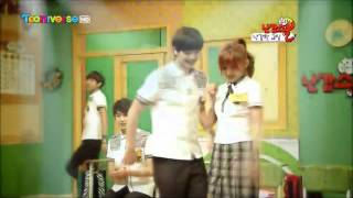 Video Trouble Maker - BTOB Sungjae & 4Minute Sohyun in School Uniform (Feat. Kwanghee) download MP3, 3GP, MP4, WEBM, AVI, FLV Maret 2018