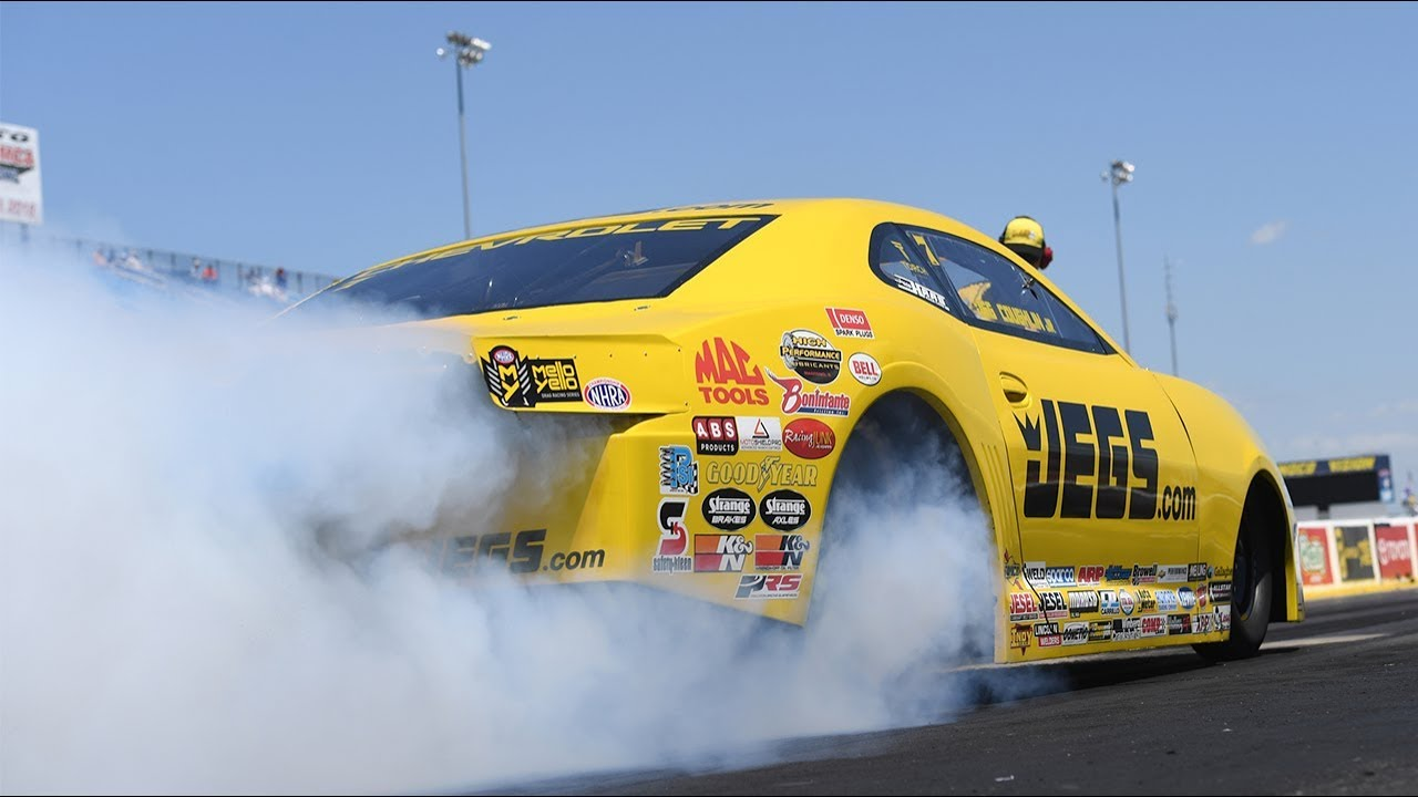 Jeg Coughlin Jr. wins the JEGS Route 66 NHRA Nationals