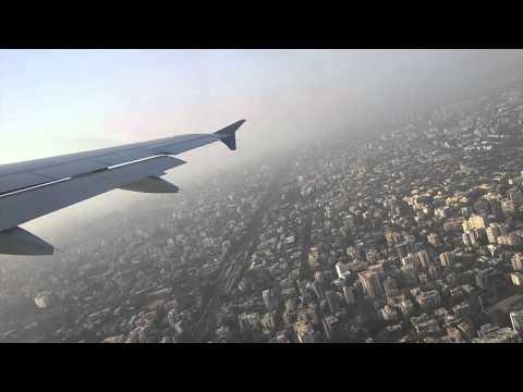 Takeoff of Mumbai-Cochin Go Air Flight G8-162
