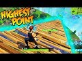 HIGHEST POINT IN FORTNITE EVER!!! (ZOMBIE BOYS XDDD)