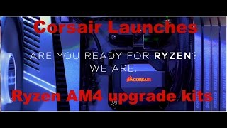 corsair launches official am4 ryzen upgrade kit for existing coolers