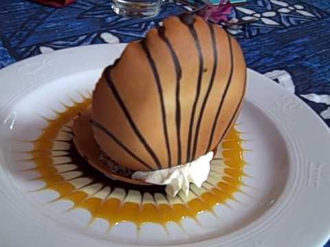 Mama's Fish House In Maui Hawaii_Black Pearl_Best Dessert !!.AVI