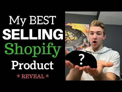 Showing You My Best Selling Shopify Product (REVEAL)