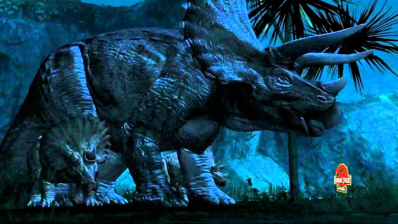 jurassic park the game triceratops youtube