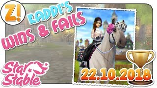 Star Stable [SSO]: Kaddi's Wins & Fails - Fjord Remake Level 15 Test [22.10.2018] [DEUTSCH]