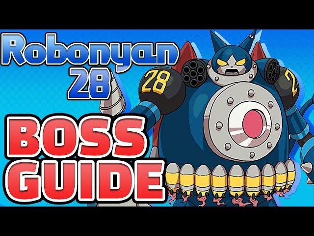 Yo Kai Watch Blasters How To Beat Robonyan 28 Ultimate Boss Guide