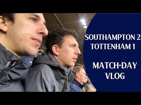 Southampton 2 Tottenham 1 | Match-day vlog