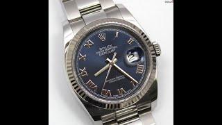 Rolex 116234 데이저스트 검판 36mm 구백만…