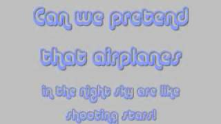 Airplanes/Brick by Boring Brick Cover Lyrics by Michael Henry & Justin Robinett