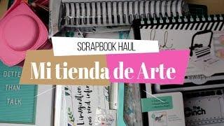 Compras Haul de scrapbook | Mi tienda de Arte | Yoltzin Handmade