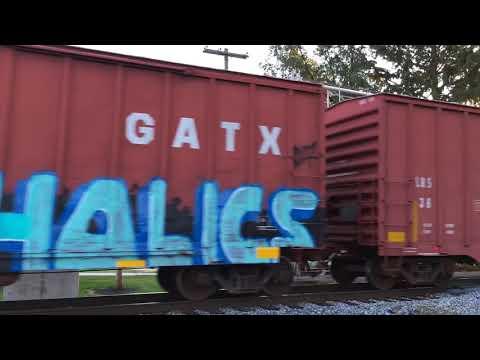 CSX train going through Smithsburg