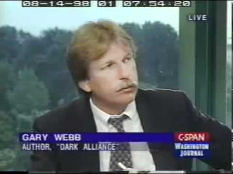 Gary Webb on CIA Drug Trafficking   Dark Alliance Interview Part 6   YouTube