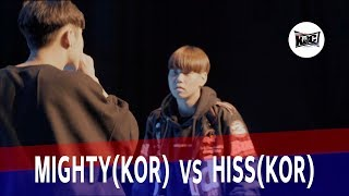 MIGHTY VS HISS|2018 KOREA BEATBOX CHAMPIONSHIP|Semi Final