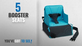 Top 10 Booster Seats [2018]: Munchkin Travel Booster Seat