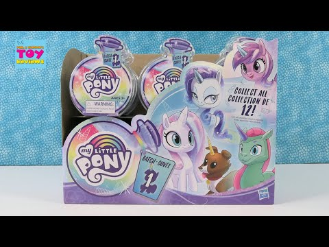 My Little Pony Potion Ponies Batch 1 Collectible Water Reveal Opening | PSToyReviews