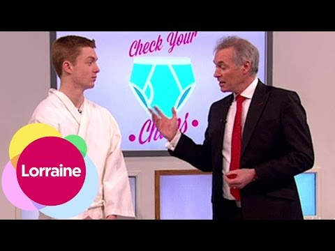 How To Check For Testicular Cancer | Lorraine from YouTube · Duration:  2 minutes 19 seconds