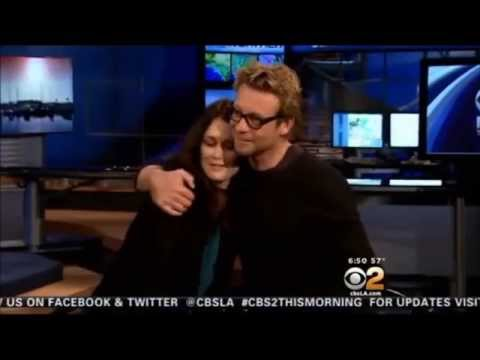 Robin Tunney & Simon Baker  friendship