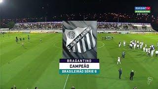 Momentos finais + Festa do título do Bragantino ? Brasileirão Série B 2019 (SporTV)