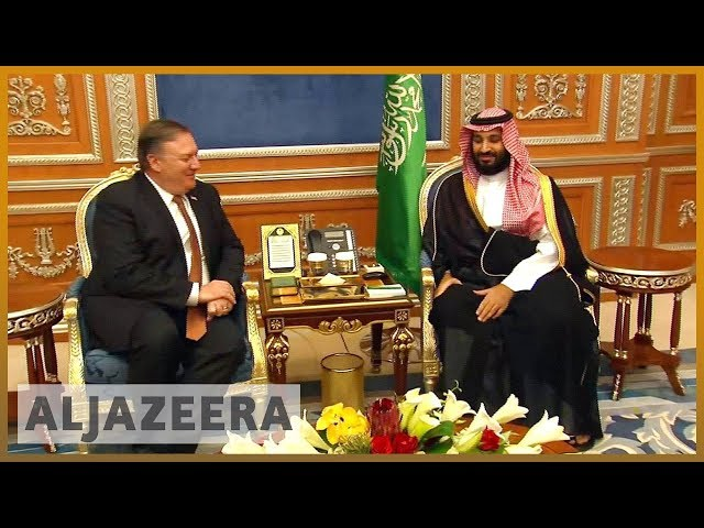 🇺🇸 🇸🇦 US' Pompeo briefing on Khashoggi 'murder' after Saudi visit | Al Jazeera English