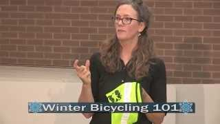 Winter Bicycling 101